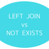 LEFT JOIN vs NOT EXISTS